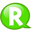 speech-balloon-green-r-icon
